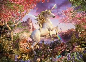 cobble hill realm of the unicorn legpuzzel eenhoorn