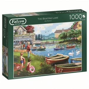 falcon boating lake legpuzzel meer