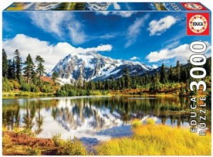 Educa: Mount Shuksan, Washington USA (3000) legpuzzel