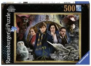 Ravensburger: Harry Potter Fantastic Beasts (500) legpuzzel