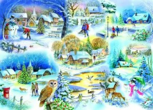 House of Puzzles: Let it Snow (1000) winterse puzzel