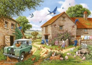 House of Puzzles: Farmer's Wife (500XL) legpuzzel