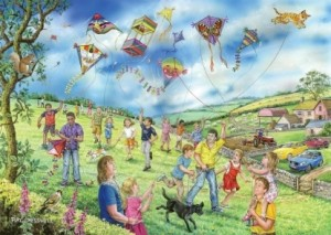 House of Puzzles: Let's Go Fly a Kite (250XL) legpuzzel