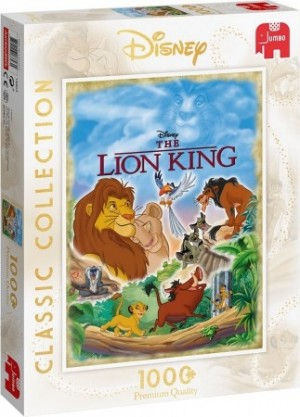 Jumbo: Disney The Lion King (1000) disney puzzel