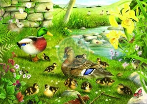 House of Puzzles: Ducks to Water (500XL) legpuzzel