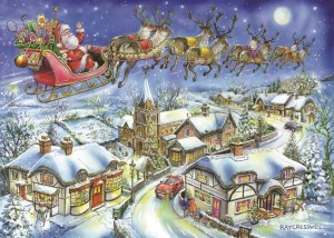 House of Puzzles: Christmas Collection nr 13 Christmas Eve (1000) kerstpuzzel