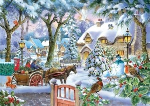 House of Puzzles: Almost Home (500XL) kerstpuzzel
