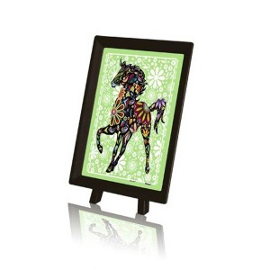 Pintoo: The Pretty Horse (150) plastic minipuzzel