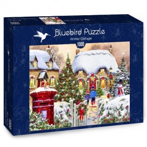 Bluebird: Winter Cottage (1000) winterpuzzel