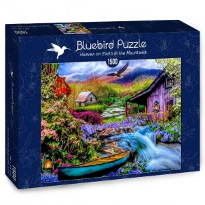 Bluebird: Heaven on Earth in the Mountains (1500) legpuzzel