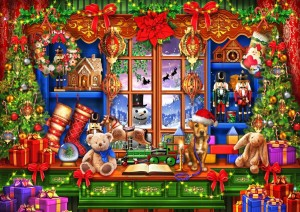 Bluebird: Ye Old Christmas Shoppe (2000) kerstpuzzel