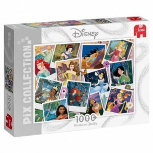 Jumbo: Disney Princess Selfies (1000) legpuzzel