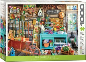 Eurographic: The Potting Shed (1000) legpuzzel
