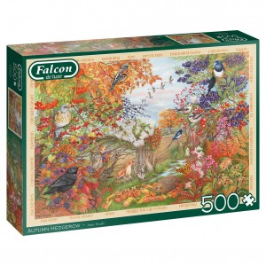 Falcon: Autumn Hedgerow (500) herfstpuzzel