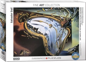 Eurographics: Salvador Dali - Melting Clocks (1000) legpuzzel