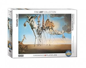 Eurographics: Salvador Dali Temptation of St Anthony (1000) puzzel
