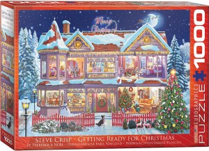 Eurographics: Getting Ready for Christmas - Steve Crisp (1000) kerstpuzzel