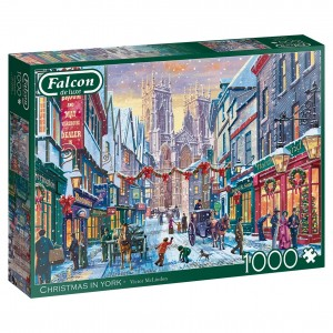 Falcon: Christmas in York (1000) kerstpuzzel