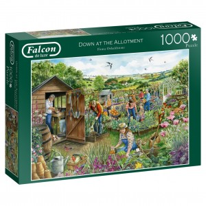 Falcon: Down at the Allotment (1000) legpuzzel