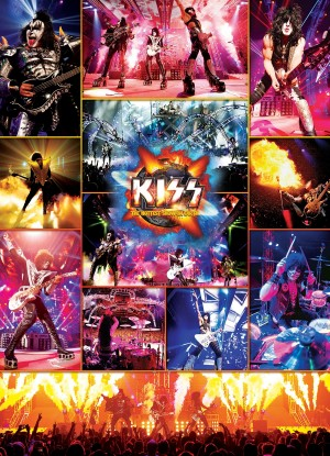 Eurographics: Kiss The Hottest Show on Earth (1000) puzzel