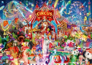 Bluebird: Ciro Marchetti - A Night at the Circus (1000) legpuzzel