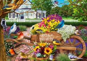 Bluebird: Bed & Breakfast (1000) legpuzzel