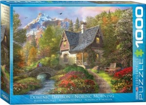 Eurographics: Dominic Davison - Nordic Morning (1000) puzzel