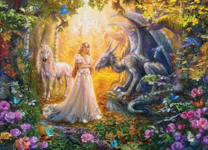 Eurographics: Princess Garden (500XL) fantasy puzzel