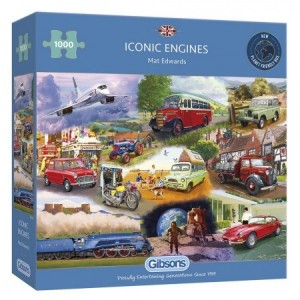 Gibsons: Iconic Engines (1000) legpuzzel