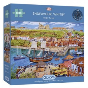 Gibsons: Endeavour, Whitby (1000) legpuzzel