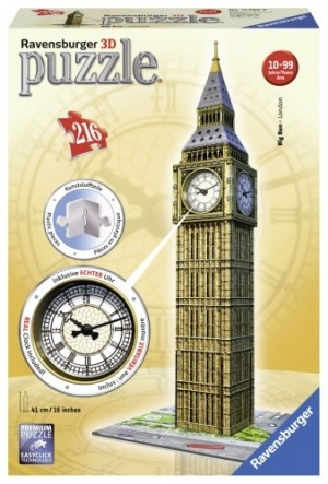 Ravensburger: Big Ben London met klok (216) 3D puzzel