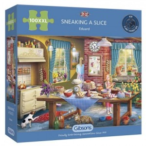 Gibsons: Sneaking a Slice (100XXL) legpuzzel