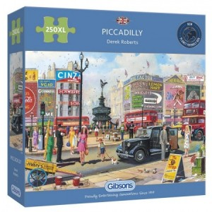 Gibsons: Piccadilly (250XL) legpuzzel