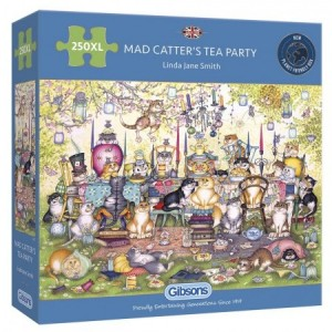 Gibsons: Mad Catter's Tea Party (250XL) legpuzzel