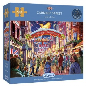 Gibsons: Carnaby Street (500) legpuzzel