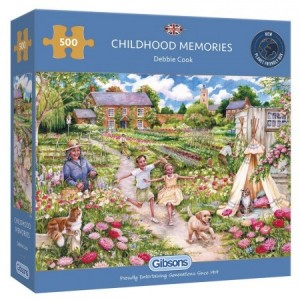 Gibsons: Childhood Memories (500) legpuzzel