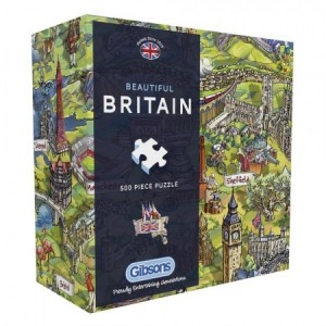 Gibsons: Beautiful Britain (500) legpuzzel