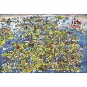 gibsons beautiful britian puzzel 500 stukjes