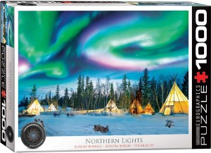 eurographics northern lights 1000 stukjes legpuzzel