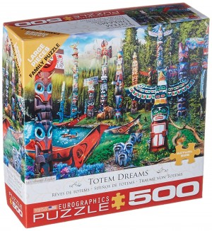 Eurographics: Totem Dreams (500XL) legpuzzel