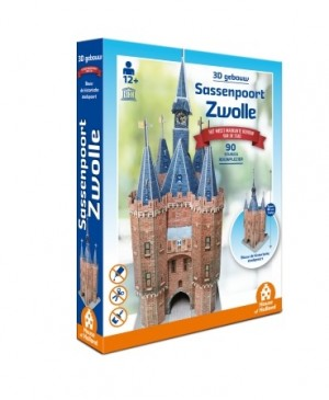 House of Holland: Sassenpoort Zwolle (90) 3D puzzel
