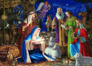 Cobble Hill: Miracle in Bethlehem (1000) kerstpuzzel
