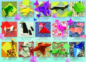 Cobble Hill: Origami Animals (500) verticale puzzel