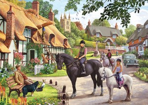Otter House: Country Life (1000) legpuzzel