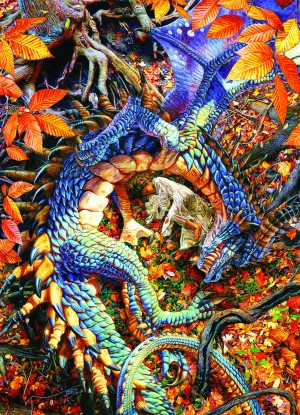 Cobble Hill: Abby's Dragon (1000) drakenpuzzel