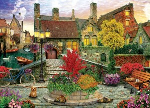 Eurographics: Old Town Living (1000) legpuzzel