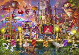 Bluebird: Magic Circus Parade (6000) grote legpuzzel