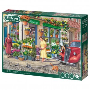 Falcon: The Florist - Vic McLindon (1000) legpuzzel