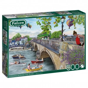 Falcon: Looking across the River (500) legpuzzel