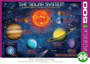 Eurographics: The Solar System (500XL) ruimtepuzzel